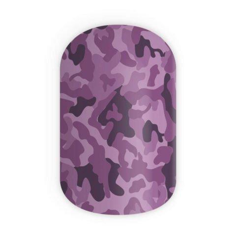 Blikka Nagelfolien Purple Camouflage Thumbnail
