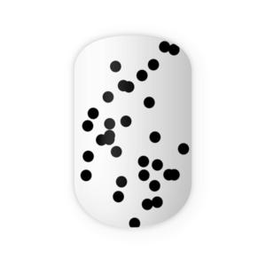 Blikka Nagelfolien Black Dots Thumbnails