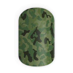 Blikka Nagelfolien Jungle Camouflage Thumbnail