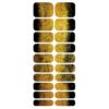 Blikka Nagelfolie Champagne Gold Black Set