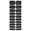 Blikka Nagelfolie Silver Waves Set