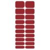 Blikka Nagelfolie Classic Red Set