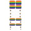 Blikka Nagelfolie Pride Hearts Set
